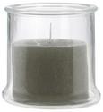 Kerze im Glas Jana in verschiedenen Farben - Klar/Creme, Glas (13/13cm) - Mömax modern living