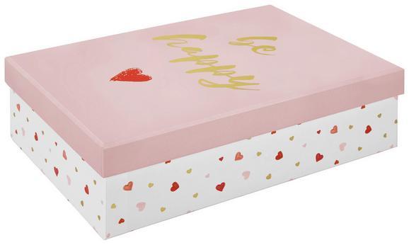 Darilna Škatla Dreams - roza, karton (24/7/16cm) - Mömax modern living