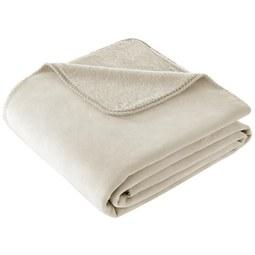 Decke Tarik in Creme ca.150x200cm - Creme, MODERN, Textil (150/200cm) - Premium Living