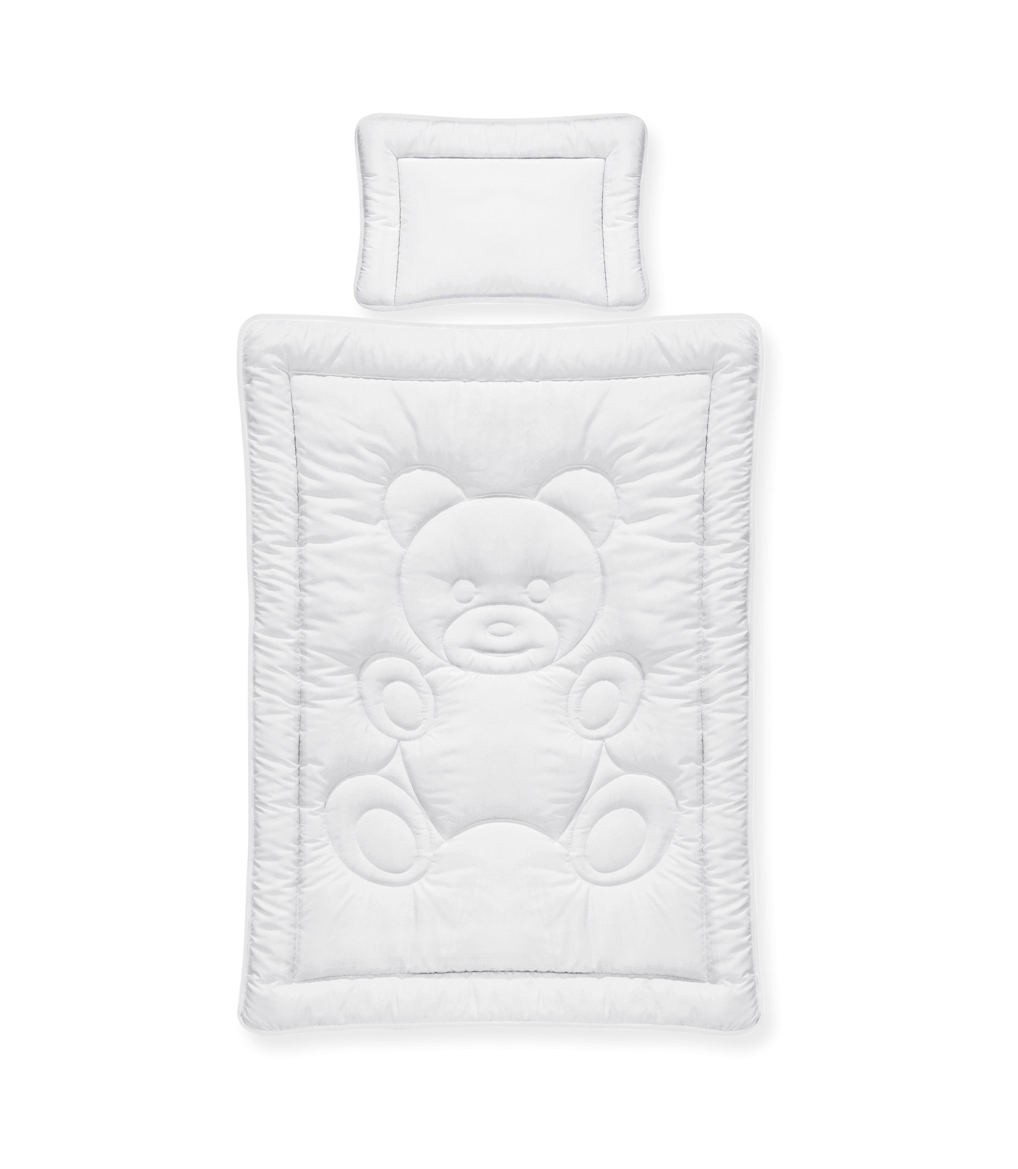 Paplan-párna Szett Teddy - fehér, textil - MÖMAX modern living