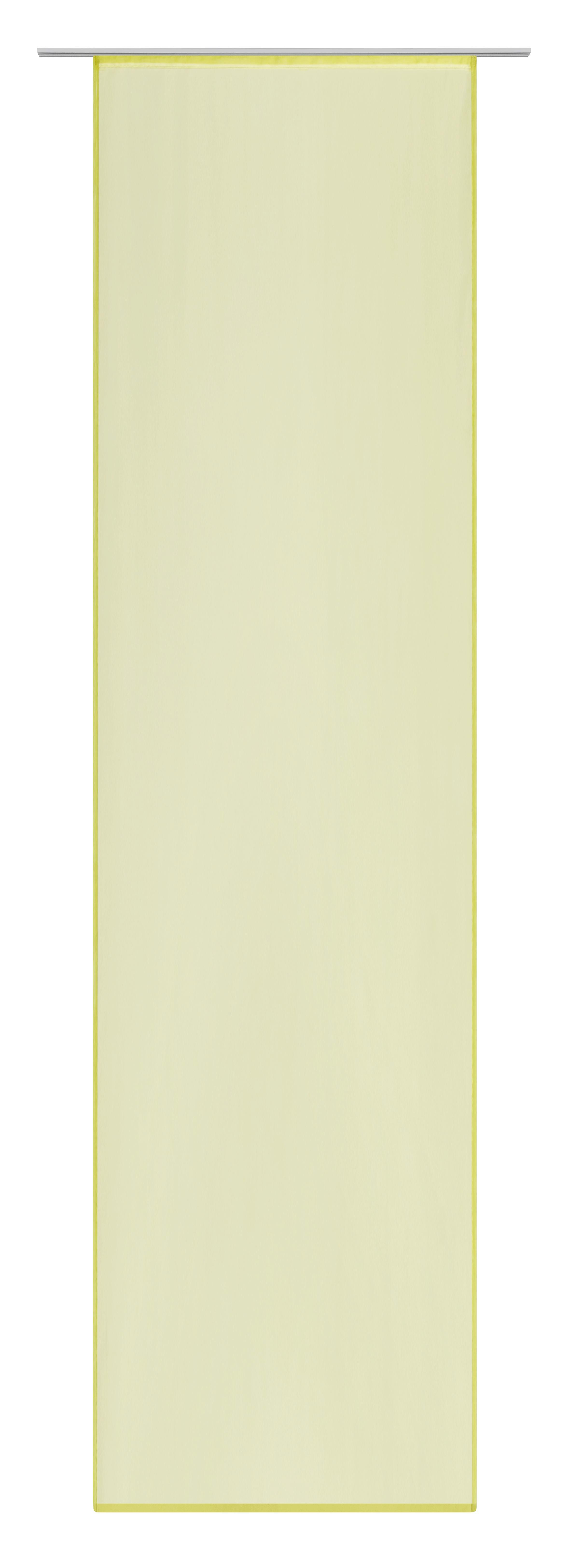 Flächenvorhang Flipp in Grün, ca. 60x245cm - Grün, Textil (60/245cm) - MÖMAX modern living