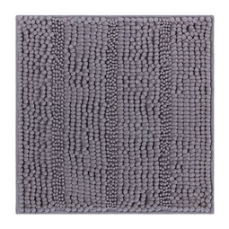 Badematte Uwe Grau 50x50cm - Grau, Textil (50/50cm) - Based