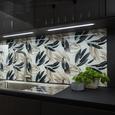 Einbauküche Stuctura/Fashion - Wengefarben/Hellgrau, MODERN, Holzwerkstoff (364/178cm) - Nobilia