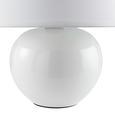 Asztali Lámpa Irma - Krém, romantikus/Landhaus, Üveg/Textil (18/25cm) - Mömax modern living