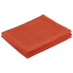 Überwurf Solid One Orange 140x210 cm - Orange, Textil (140/210cm)