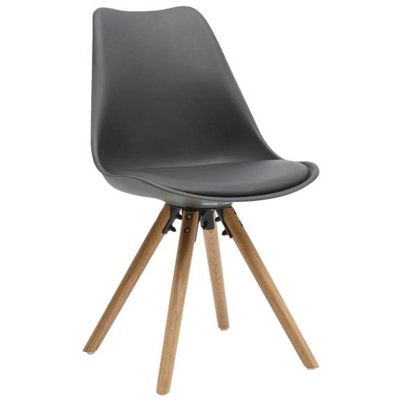 stuhl grau eichefarben online kaufen m max. Black Bedroom Furniture Sets. Home Design Ideas