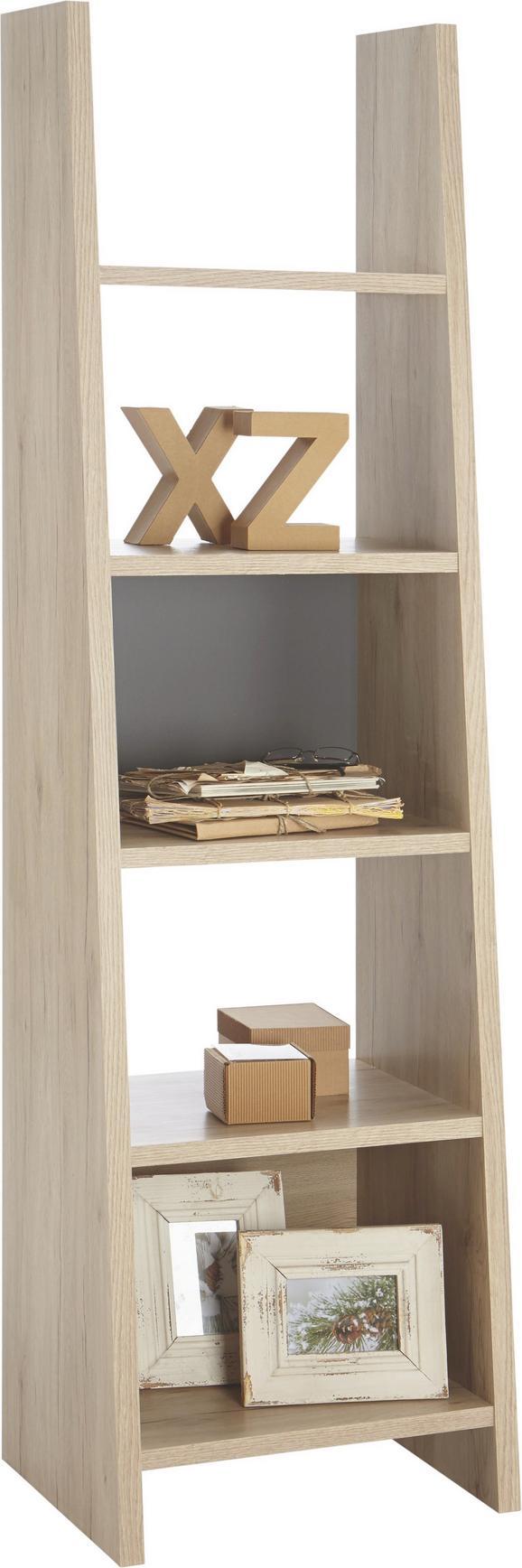 Regal Pisa Ii San Remo - hrast, Moderno, leseni material (53,6/186/38cm) - Mömax modern living