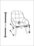 Sessel Maximilian - Hellgrau, MODERN, Holz/Textil (70,5/93/84,5cm) - Modern Living