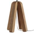 Tischleuchte Arvid - MODERN, Holz/Textil (12,5/41,5cm) - Modern Living