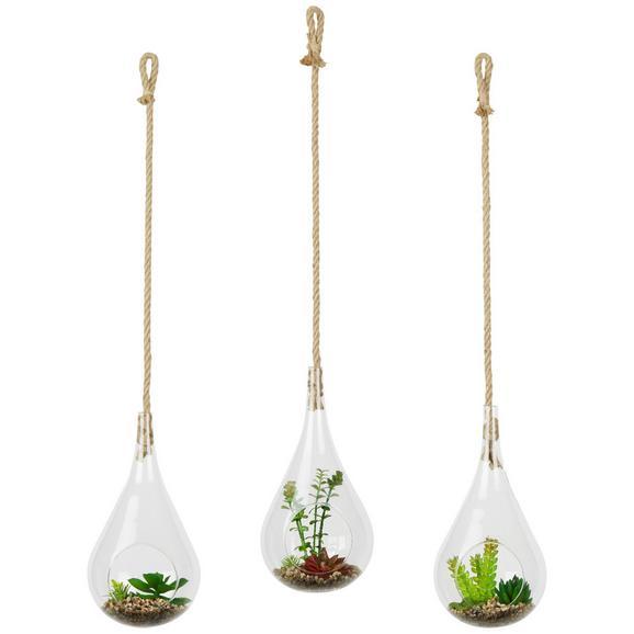 Dekorativni Obesek Alice - Basics, steklo (15/30cm)