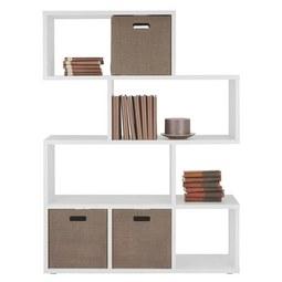 Raumteiler in Weiß - Weiß, Holzwerkstoff/Kunststoff (110/148/33cm) - Mömax modern living
