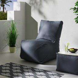 Outdoorsitzsack Kea - Grau, MODERN, Textil (80/90/100cm)