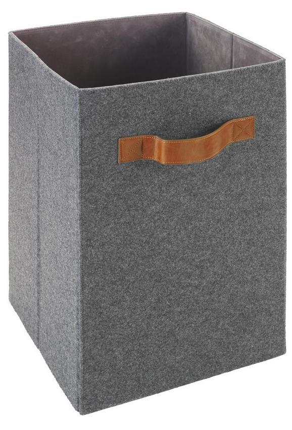 Box Tahu Tahu - Braun/Grau, MODERN, Kunststoff/Textil (31/31/51cm) - Mömax modern living