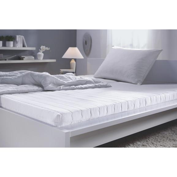 Ležišče 100x200 Cm Living Soft - bela, tekstil (100/200cm) - Nadana