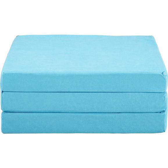 Saltea Pliabilă 189/65/8 Basic - albastru deschis, Konventionell, textil (189/65/8cm) - Based