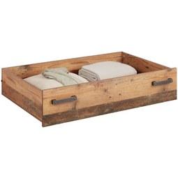 Bettschubkasten in Naturfarben - Naturfarben, MODERN, Holzwerkstoff (104,1/24/67,4cm) - Premium Living