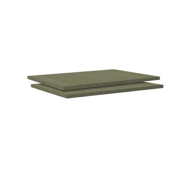 Einlegebodenset in Braun - Braun, MODERN, Holzwerkstoff (87,9/1,8/54,4cm) - Based