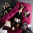 Zierkissen Frances ca. 40x40cm - Silberfarben, Trend, Textil (40/40cm) - Premium Living