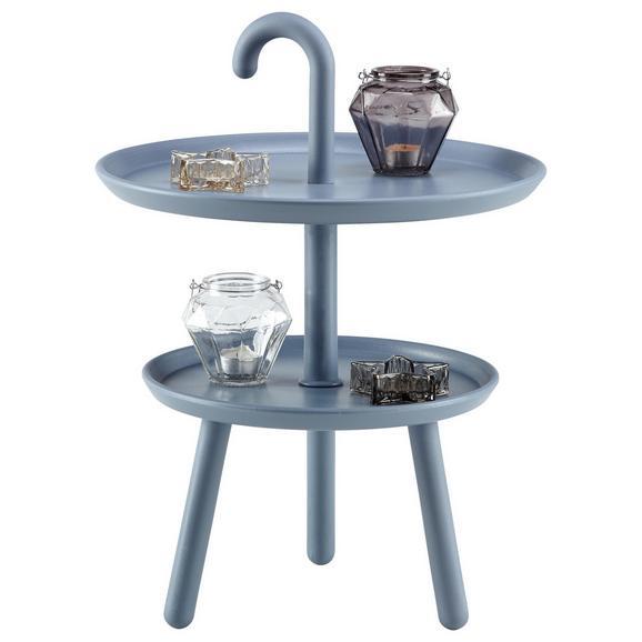 beistelltisch grau blau online kaufen m max. Black Bedroom Furniture Sets. Home Design Ideas