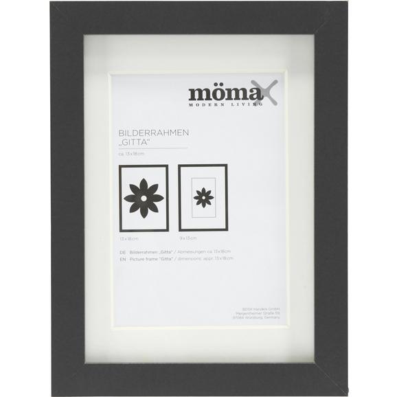 bilderrahmen gitta ca 13x18cm in schwarz online kaufen m max. Black Bedroom Furniture Sets. Home Design Ideas