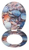 Deska Za Wc-školjko Shell -sb- - večbarvno, Moderno, les (37/43,5/6cm)