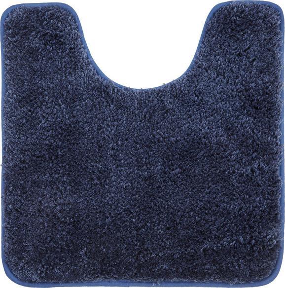 WC-Vorleger Christina Blau - Blau, Textil (50/50cm) - Mömax modern living