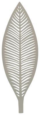 Dekoteller Renate in Taupe - Weiß, Metall (50/3,5/17cm) - MÖMAX modern living