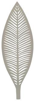 Dísztányér Renate - szürke, fém (60/4/20,5cm) - MÖMAX modern living