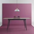 Tisch Vivian Ausziehbar ca.180x90cm - Eichefarben, MODERN, Holz/Metall (90/76/140/180cm) - Mömax modern living