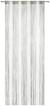 Fadenstore String Grau/Weiß 90x245cm - Weiß/Grau, Textil (90/245cm) - PREMIUM LIVING