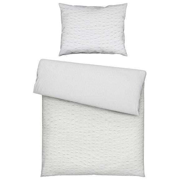 Bettwäsche Betty in Weiß - Weiß, KONVENTIONELL, Textil (140/200cm) - Mömax modern living