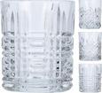 Gläserset Whisky verschiedene Designs - KONVENTIONELL, Glas (8/10cm)