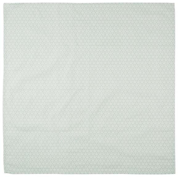 Prt Ameline - svetlo zelena, Romantika, tekstil (85/85cm) - Zandiara