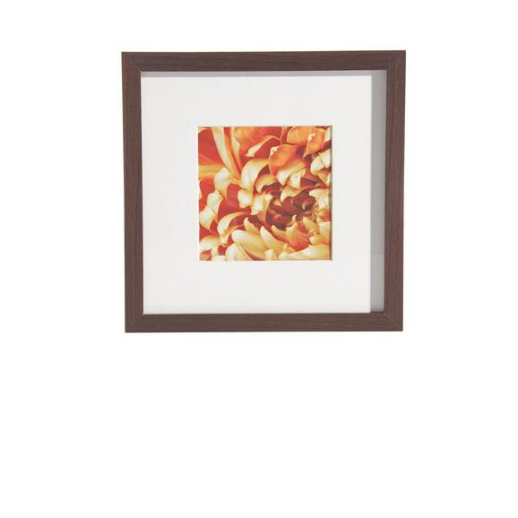 Okvir Za Slike Gitta - wenge, Moderno, steklo/leseni material (23/23cm) - Mömax modern living