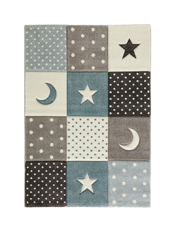 Kinderteppich Mickey Blau/Grau 100x150cm - Blau, Textil (100/150cm) - Mömax modern living