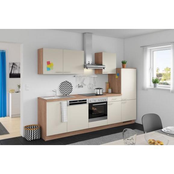 Kuhinjski Blok Win/plan - magnolija/hrast, Moderno, leseni material (280cm) - Express