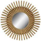 Fali Tükör Phoebe -trend- - Natúr, Lifestyle, Műanyag/Üveg (70/70/7cm)