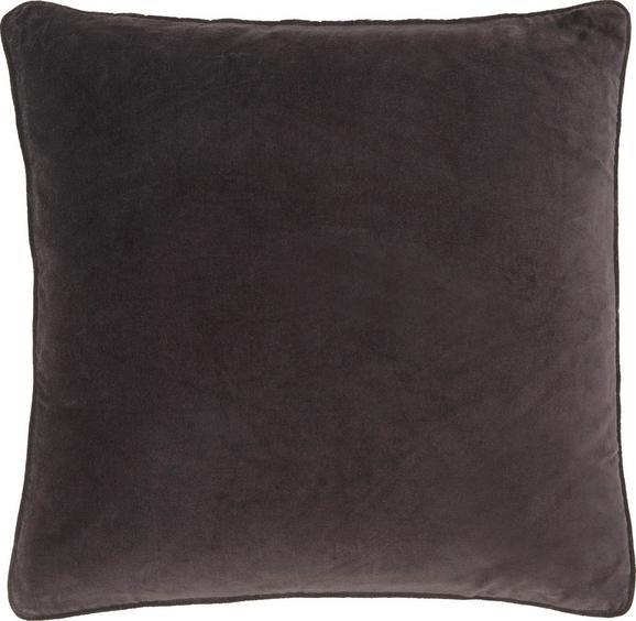 Zierkissen Susan in Schwarz, ca. 60x60cm - Schwarz, Textil (60/60cm) - Mömax modern living