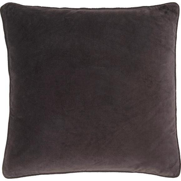 Zierkissen Susan in Schwarz ca. 60x60cm - Schwarz, Textil (60/60cm) - Mömax modern living