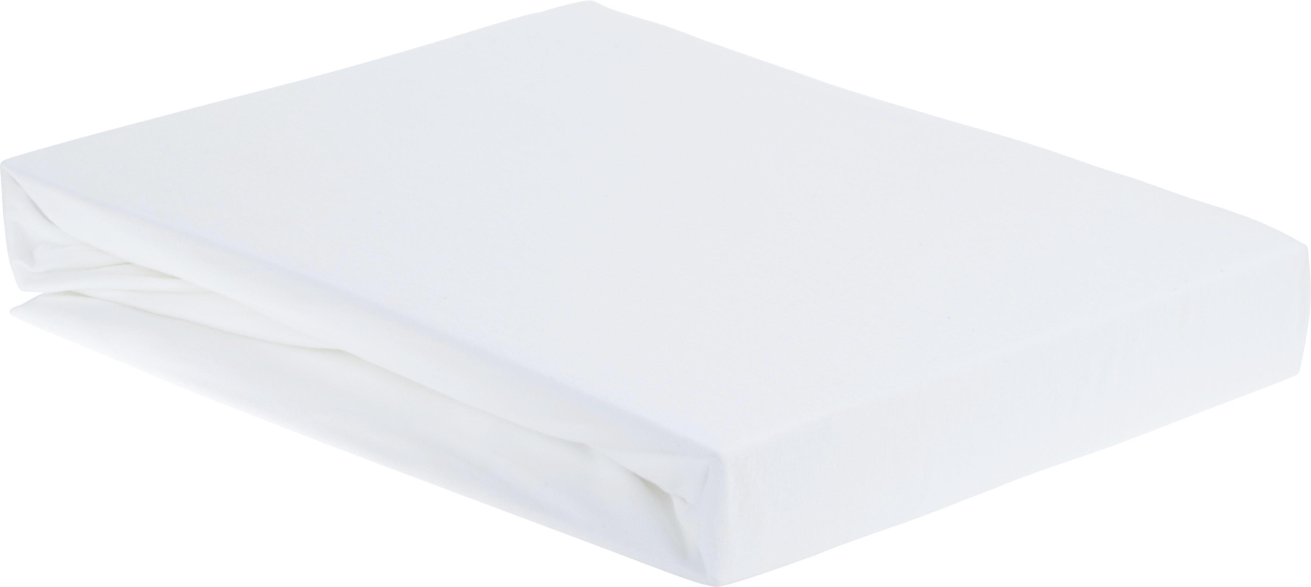 Gumis Lepedő Elasthan - fehér, textil (150/200/28cm) - premium living