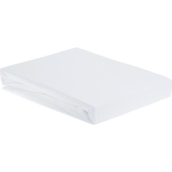 Napenjalna Rjuha Elasthan - bela, tekstil (150/200/28cm) - Premium Living