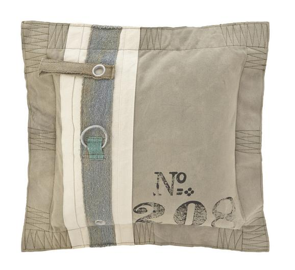 Zierkissen Zac 50x50cm - Grau, Textil (50/50cm) - PREMIUM LIVING