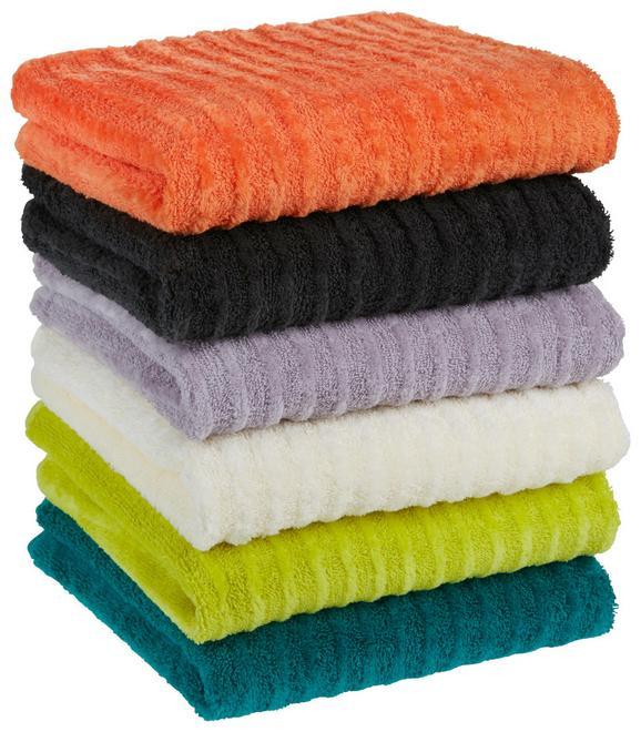 Handtuch Royale Verschiedenen Farben - Smaragdgrün/Beige, Textil (50/100cm) - Mömax modern living