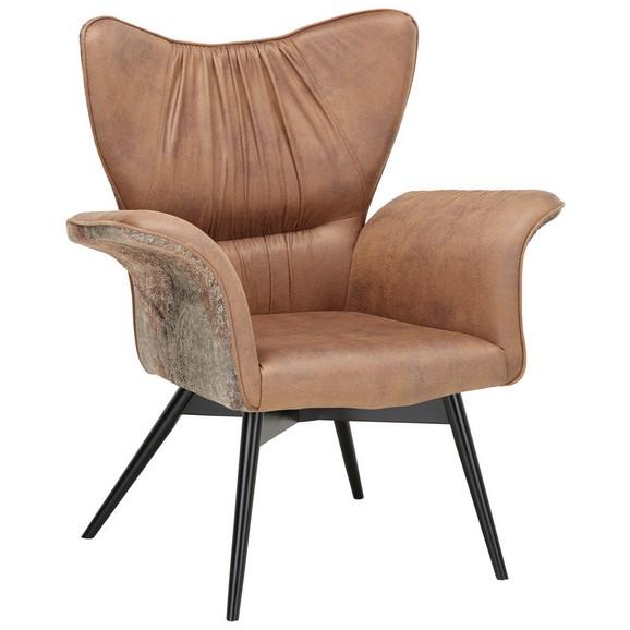 sessel braun schwarz online kaufen m max. Black Bedroom Furniture Sets. Home Design Ideas