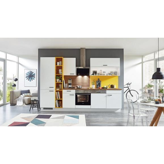 Kuhinjski Blok Brez Aparatov Speed - rumena/bela, leseni material (320cm)