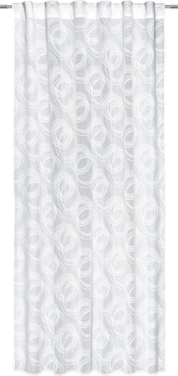 Schlaufenschal Curve, ca. 140x245cm - Weiß, KONVENTIONELL, Textil (140/245cm) - Mömax modern living