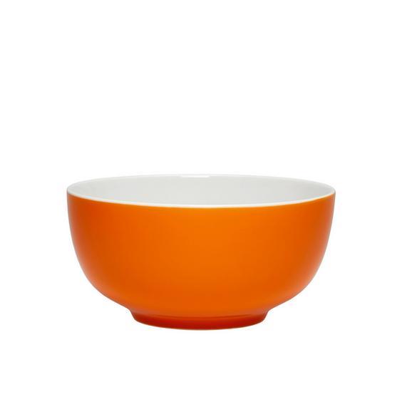 Müslischale Sandy in Orange aus Keramik - Orange, KONVENTIONELL, Keramik (13,7/6,6cm) - MÖMAX modern living