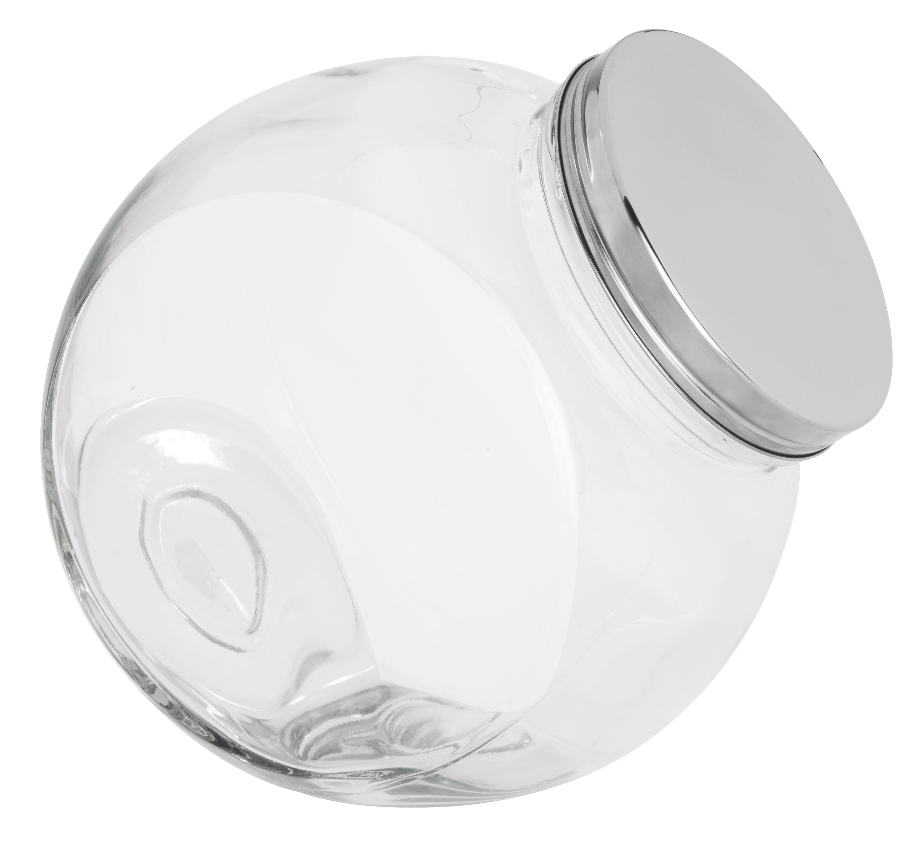 Fűszertartó Üveg Antonius - tiszta/nemesacél színű, üveg/fém (22,4/15,2/22,5cm) - MÖMAX modern living