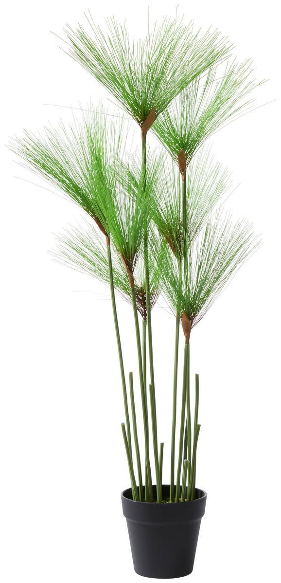 Kunstpflanze Belinda Grün - ROMANTIK / LANDHAUS, Kunststoff (90cm)