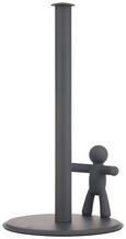 Küchenrollenhalter Ute in Grau - Grau, MODERN, Kunststoff/Metall (18,2/33,7cm) - PREMIUM LIVING